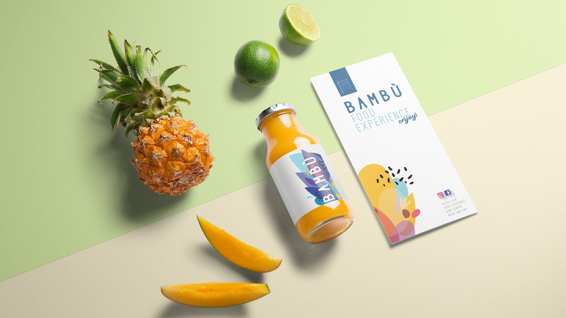 "RESTYLING OF LOGO AND GRAPHIC DESIGN OF STATIONERY SET FOR ""LIDO BAMBÙ"" IN MONOPOLI"