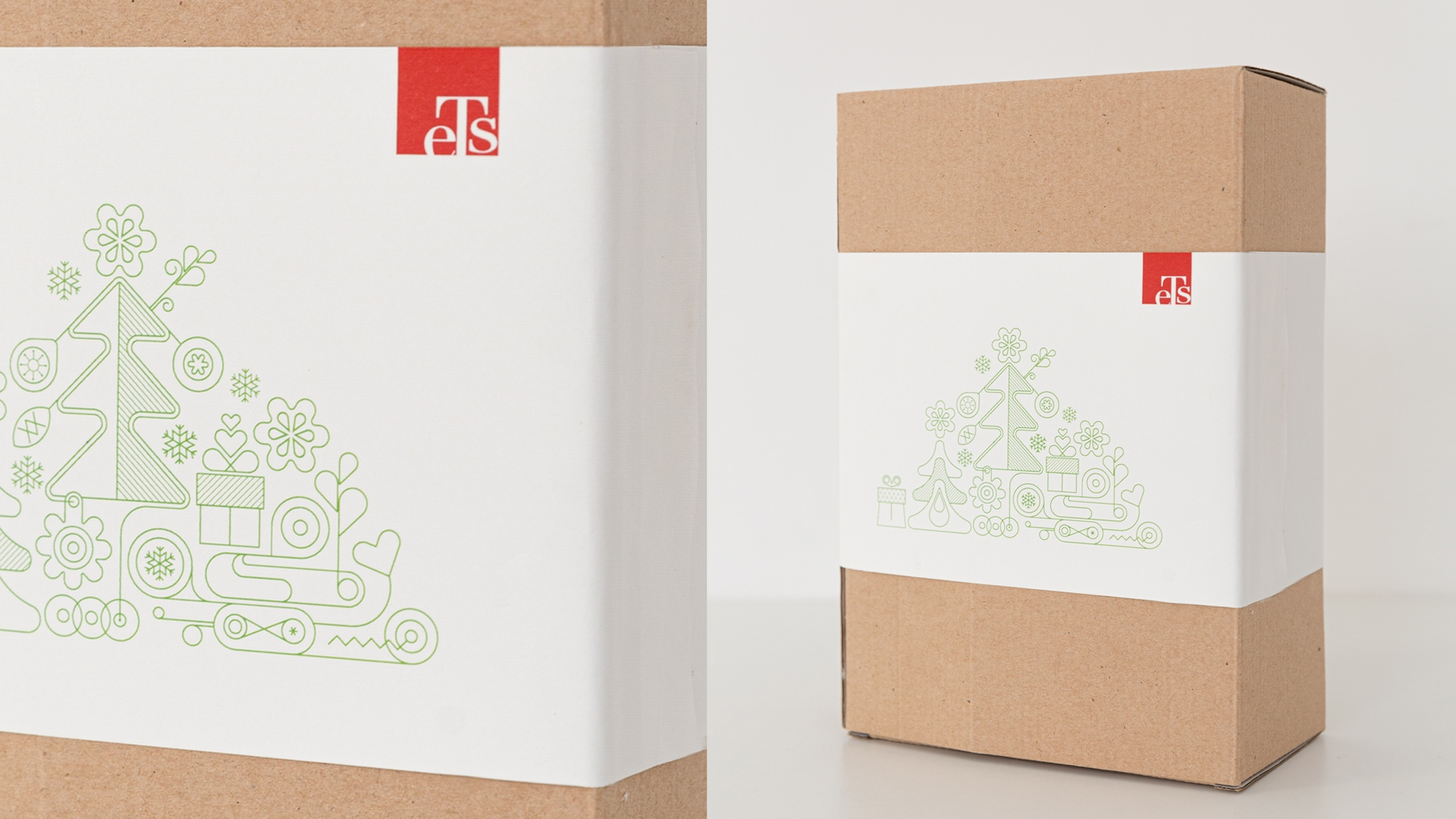 "DESIGN AND DEVELOPMENT OF CHRISTMAS PACKAGING FOR ""ETS"""