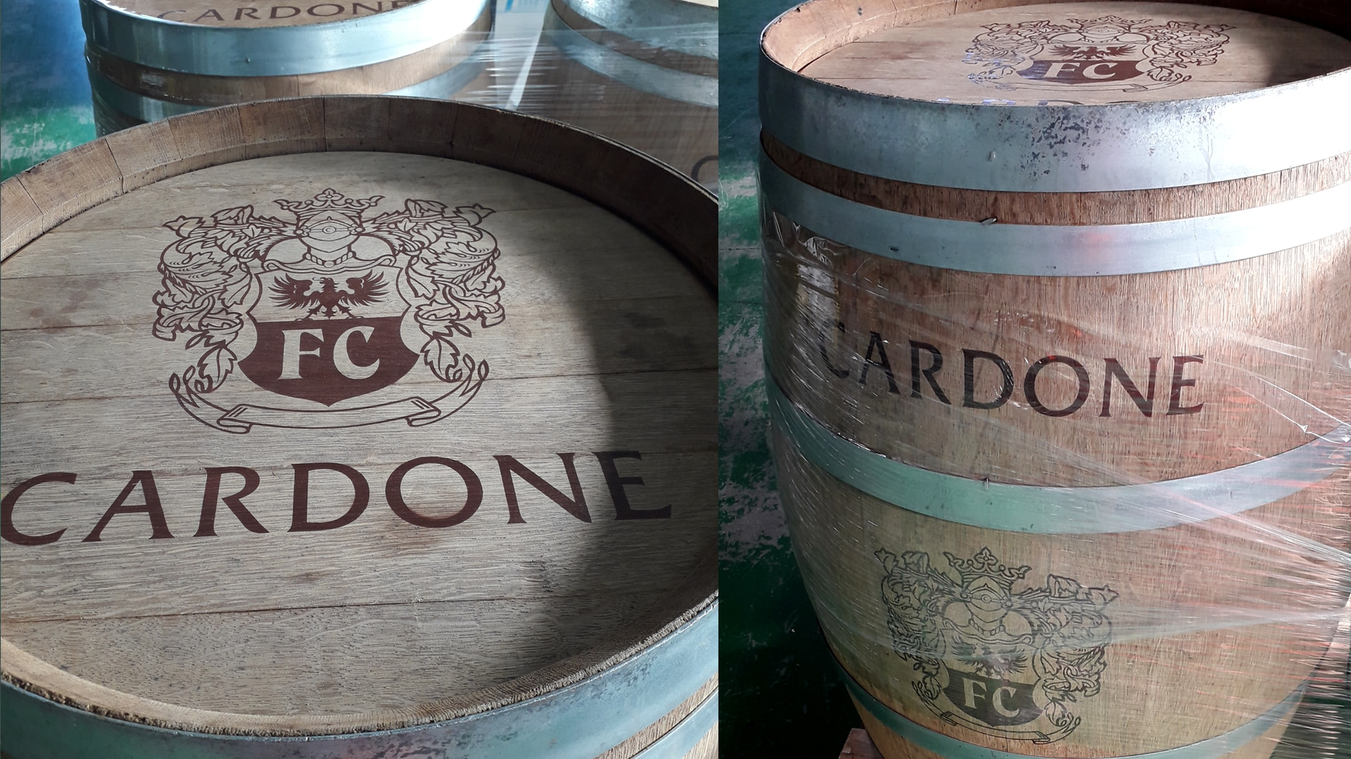 PERSONALISED BARRELS