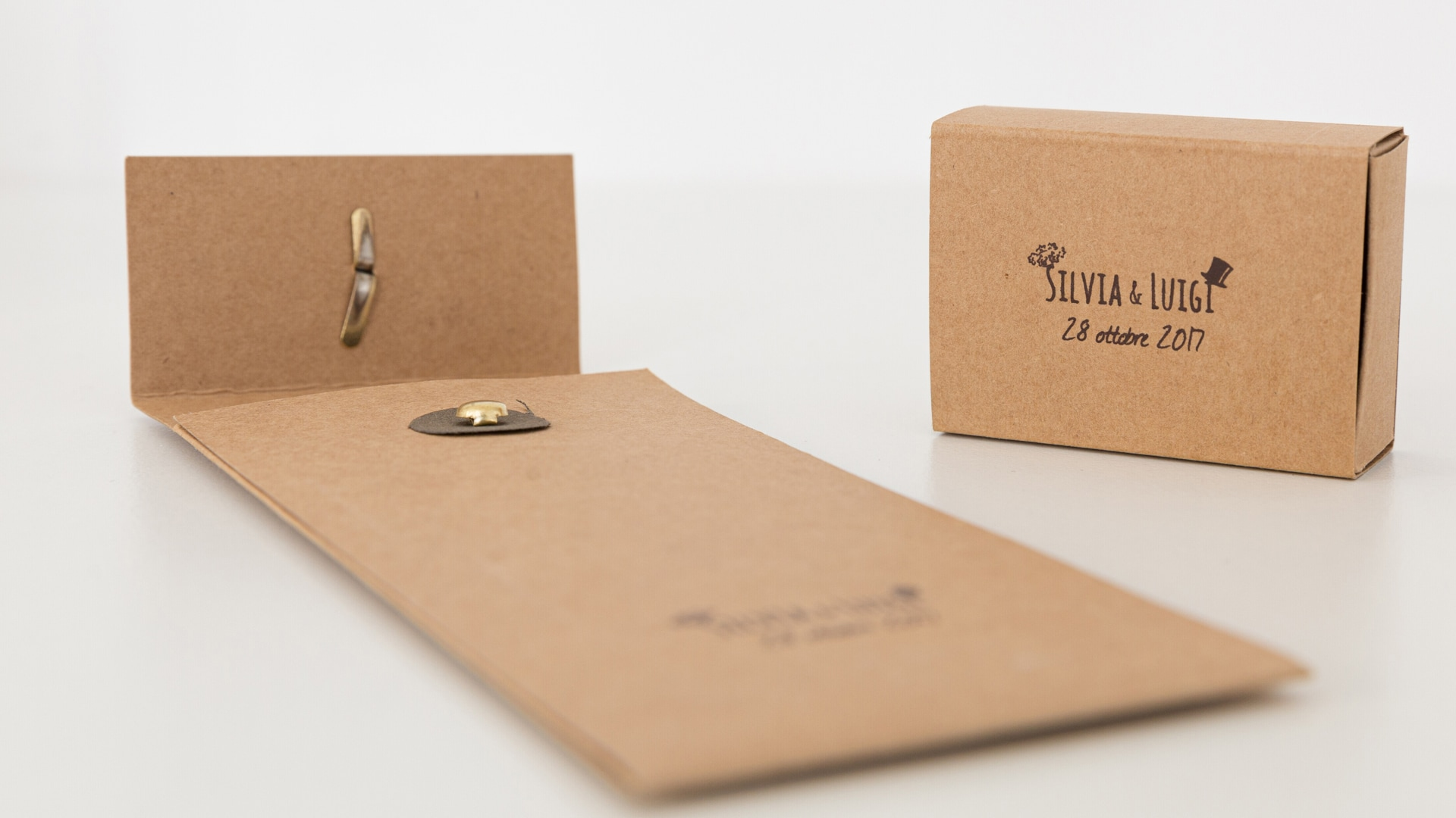 WEDDING STATIONERY SET, PERSONALISED ENVELOPE AND BOX